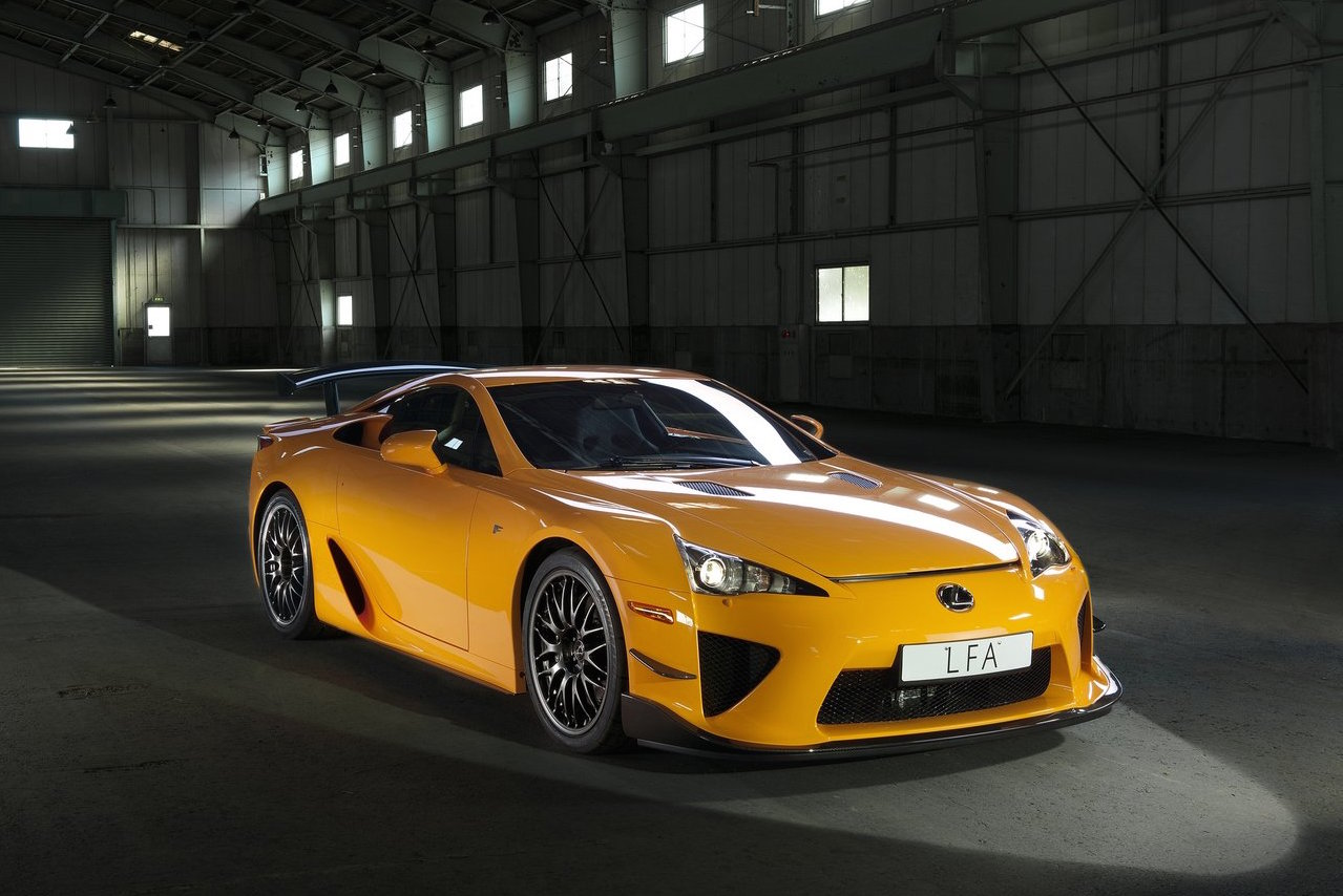 Lexuss LFA successor will be a midengined allwheel drive