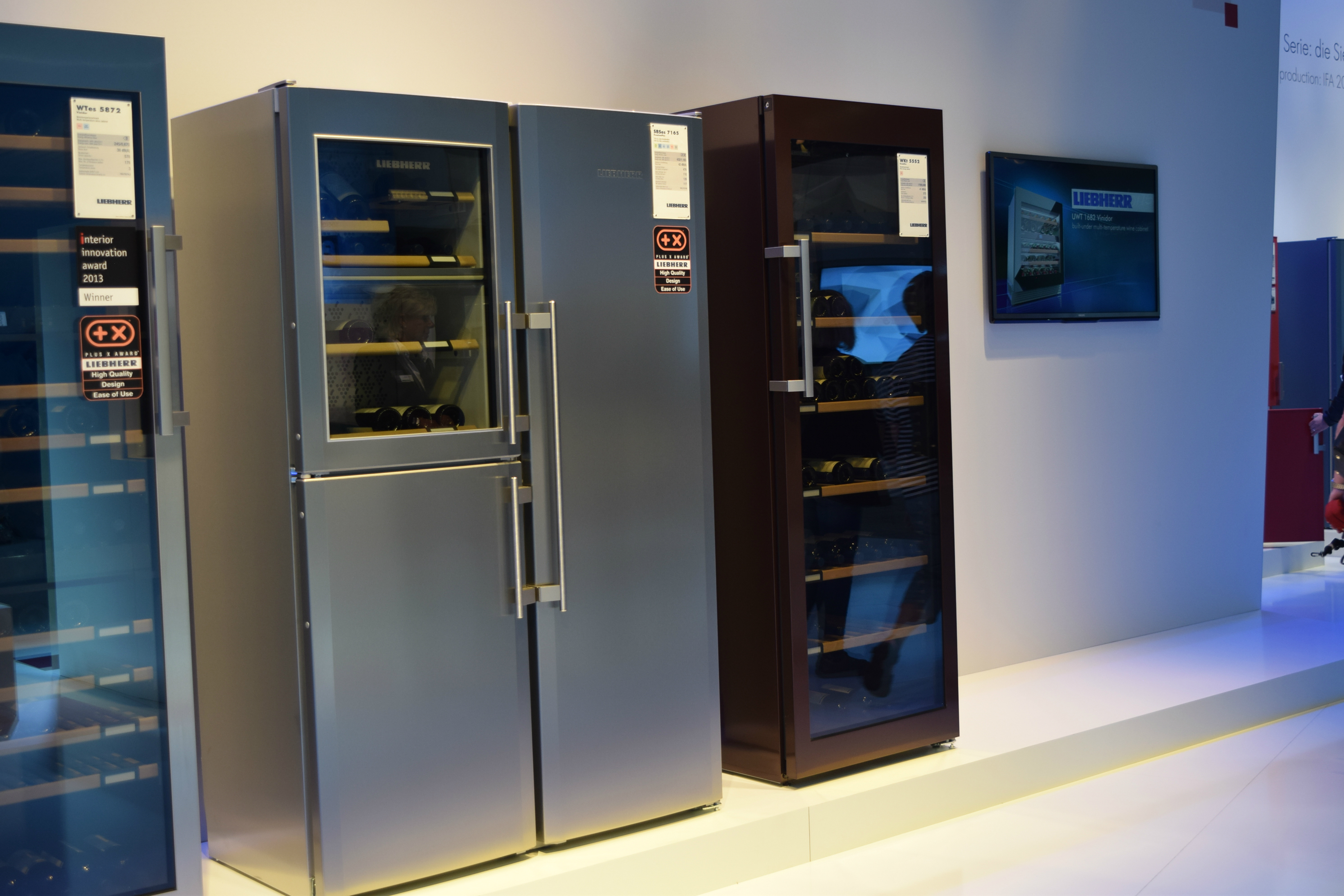 Liebherr put a wine fridge in a regular fridge. Brilliant.