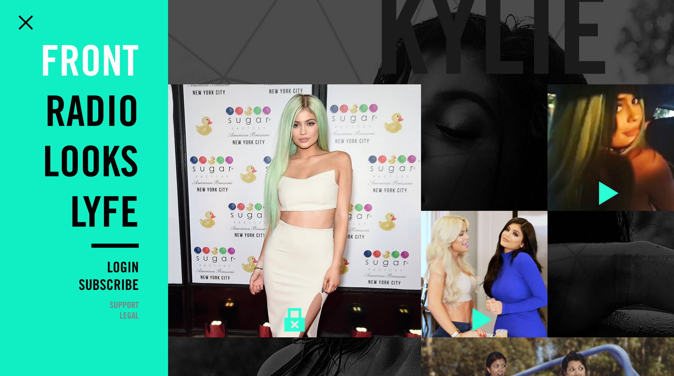 kardashians new websites expose user data screen shot  at pm