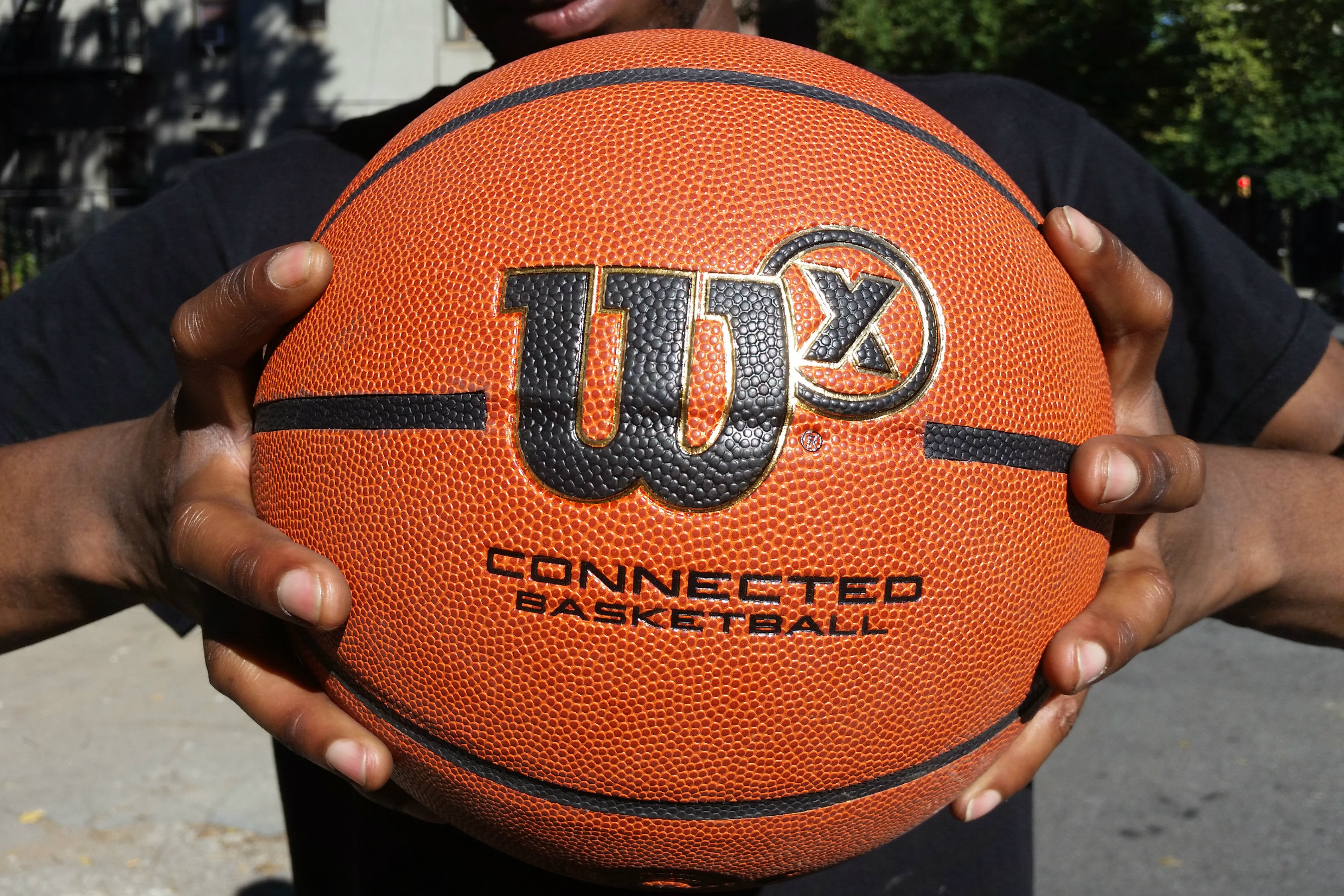 wilson x smart basketball feature