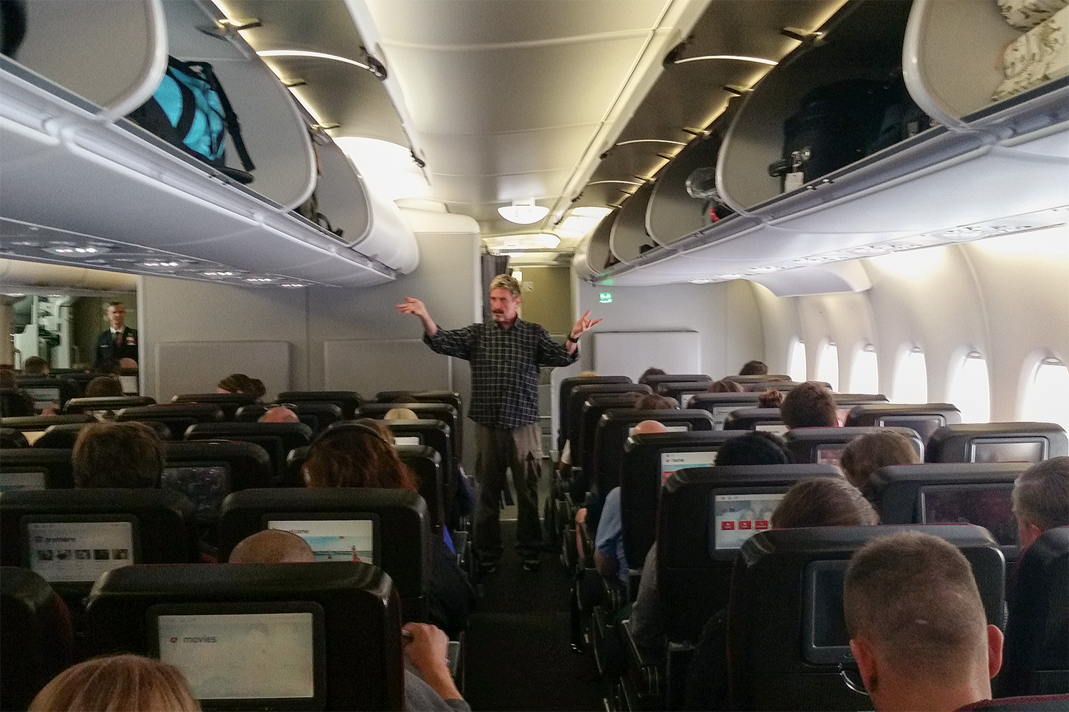 john mcafee airline hijacking hacker cyber security next