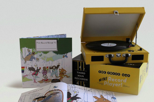 Populaire Jack White to release retro-style album and record player bundle  KT81