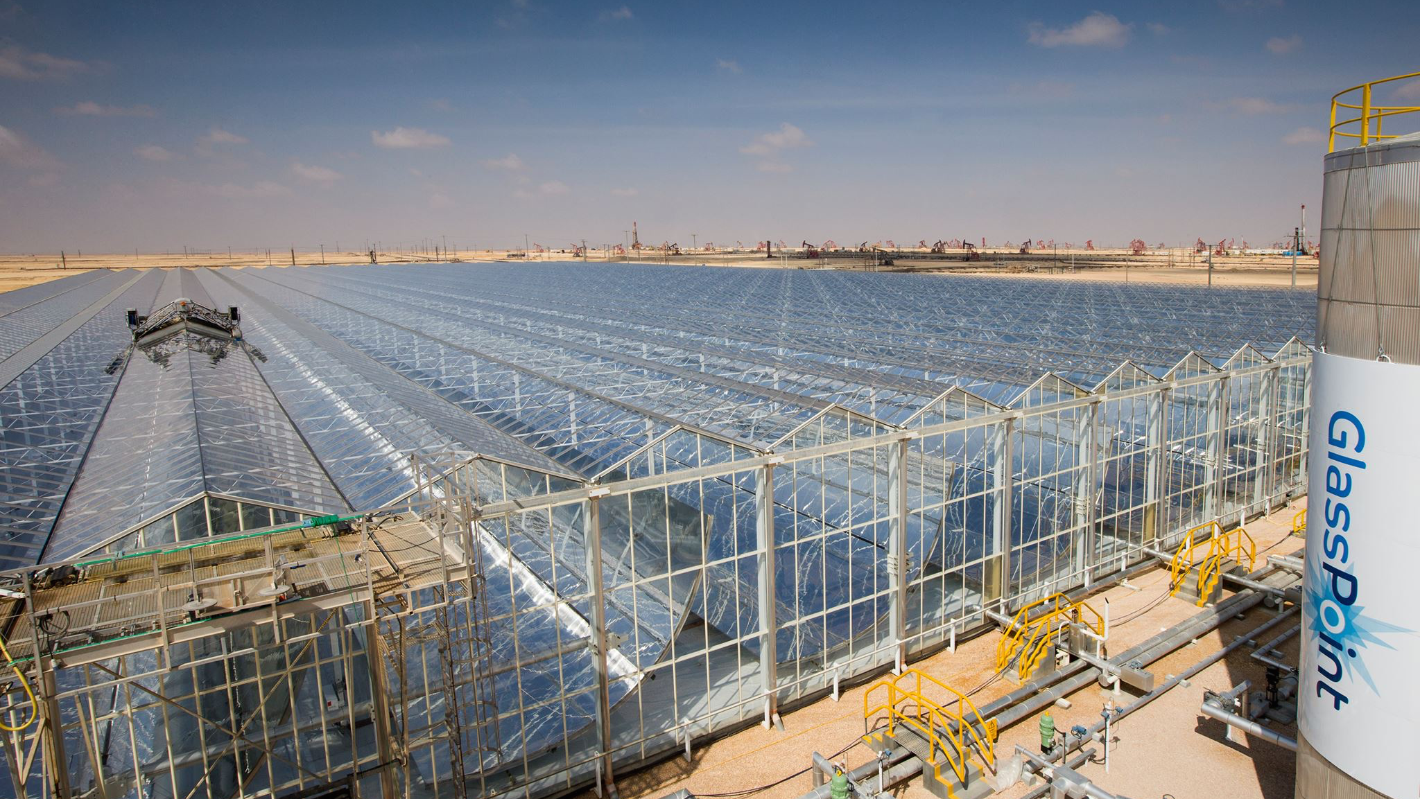 e of the world s largest solar parks set to power an Omani oil field