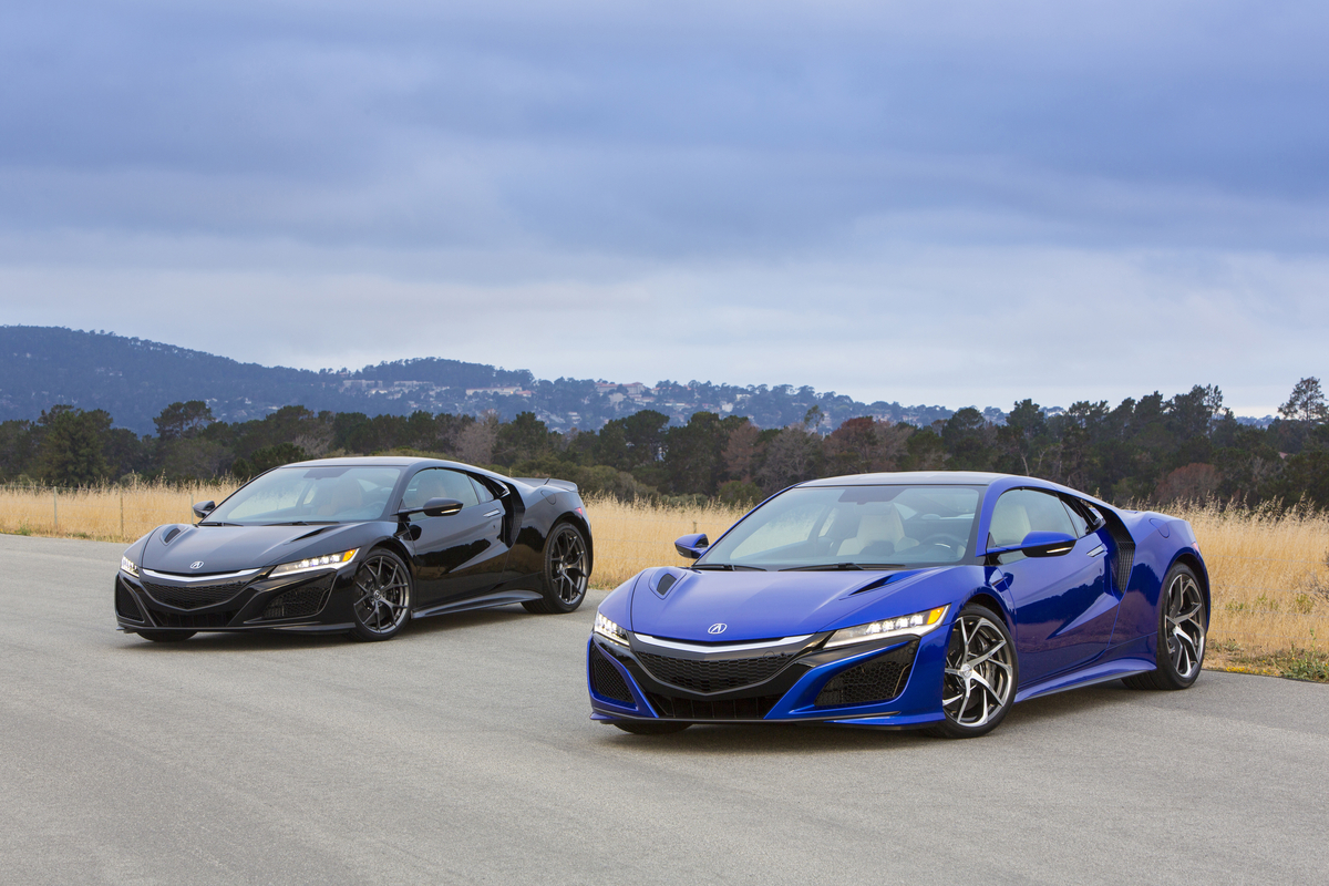 "Honda's ""Baby NSX"" will arrive in 2018 with a 1.5-liter turbocharged hybrid powertrain"