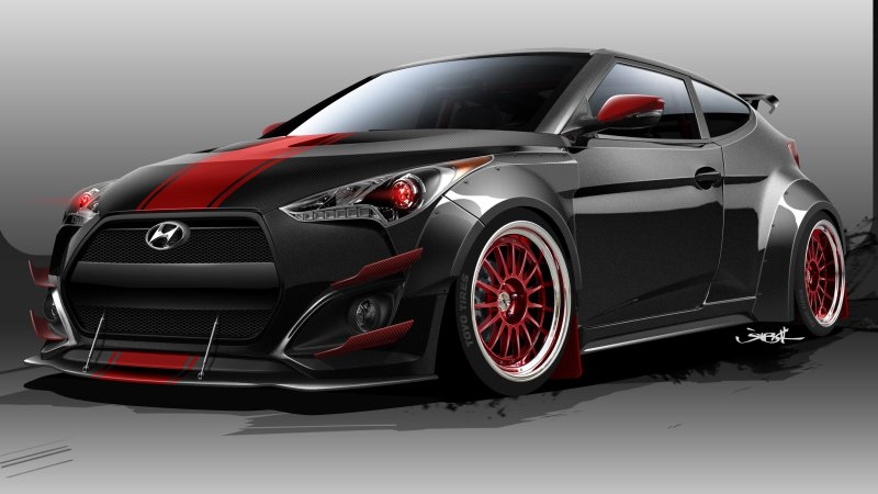 Blood Type Racing turns the Hyundai Veloster into a 500hp beast