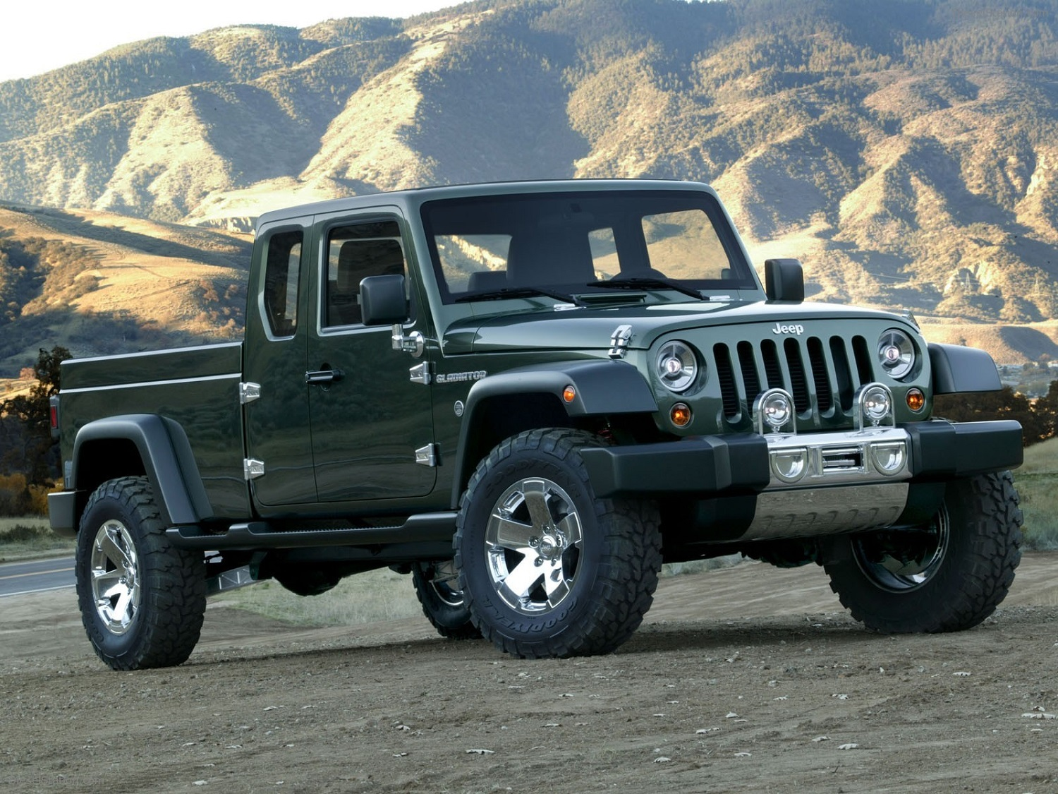 2017 jeep wrangler concept design 2017 - Jeep S Long Rumored Truck Could Be Either A Standalone Model Or A Wrangler Off Shoot