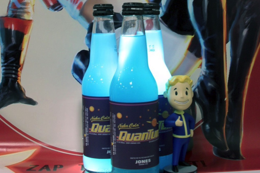 Target bethesda and soda jones partner to create nuka for Soda caps for sale