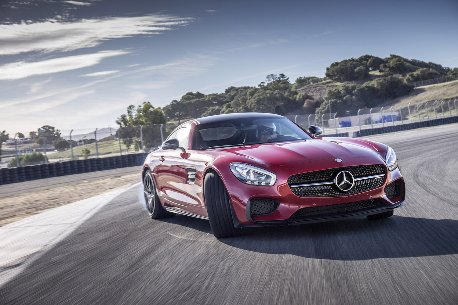 Mercedes will assign its amg gt sports car to track duty for Sports car mercedes benz
