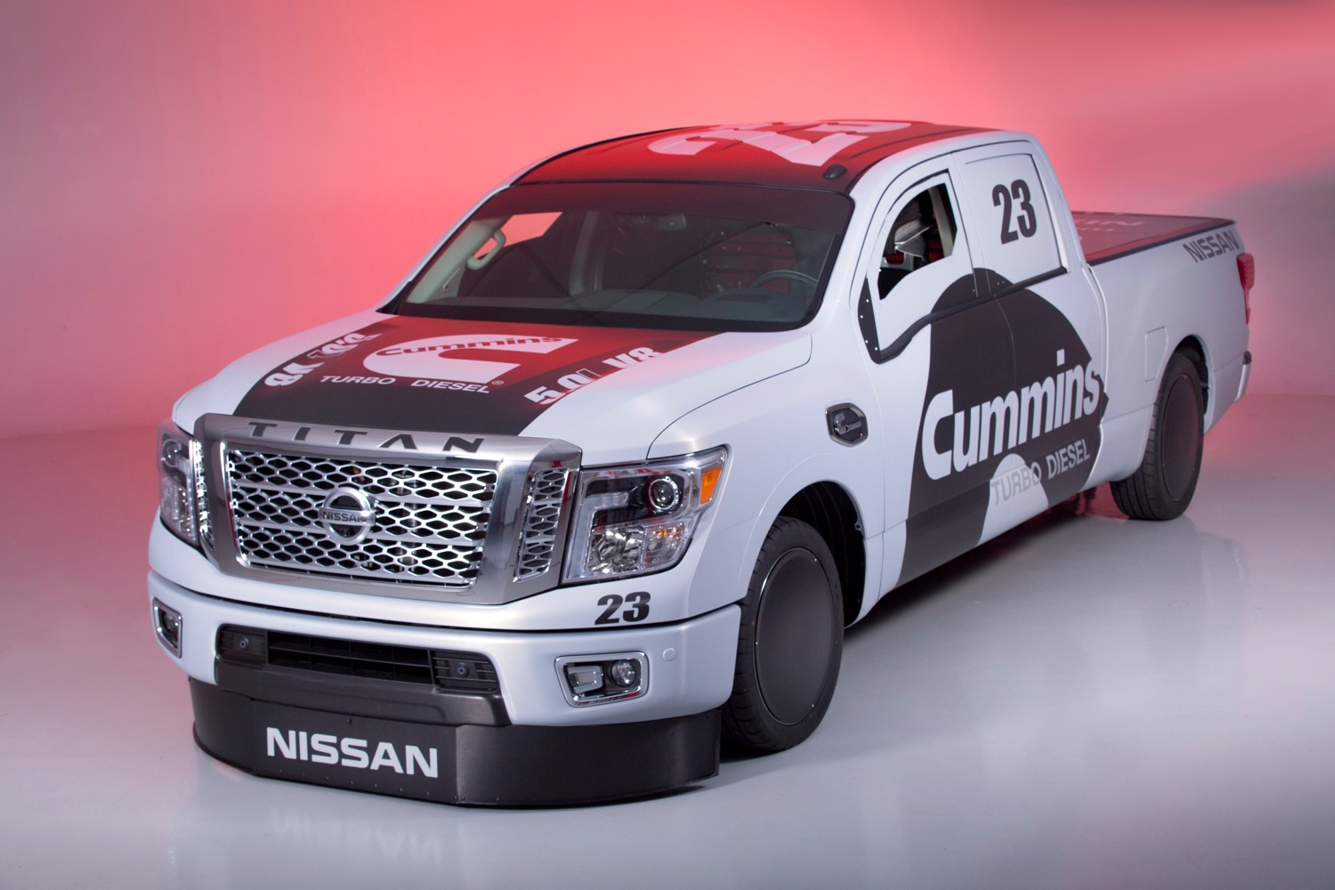 Land Speed Racing Pickup Truck Nissan Says Why Not