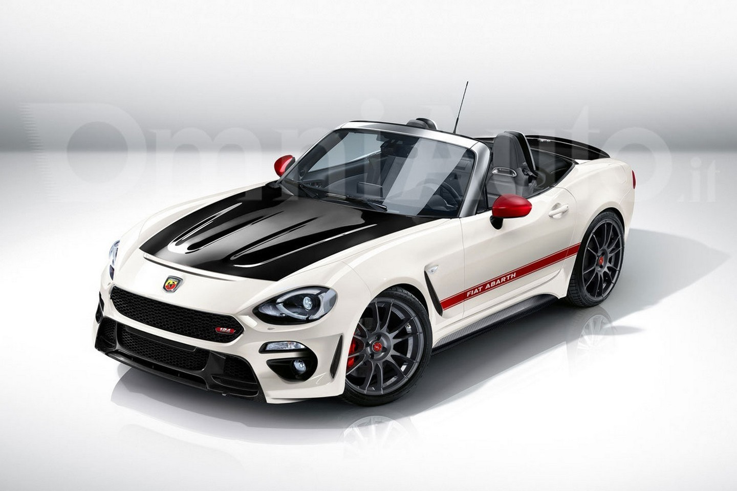 abarth will inject the fiat 124 spider with 200 hp and send it out with a hardtop. Black Bedroom Furniture Sets. Home Design Ideas