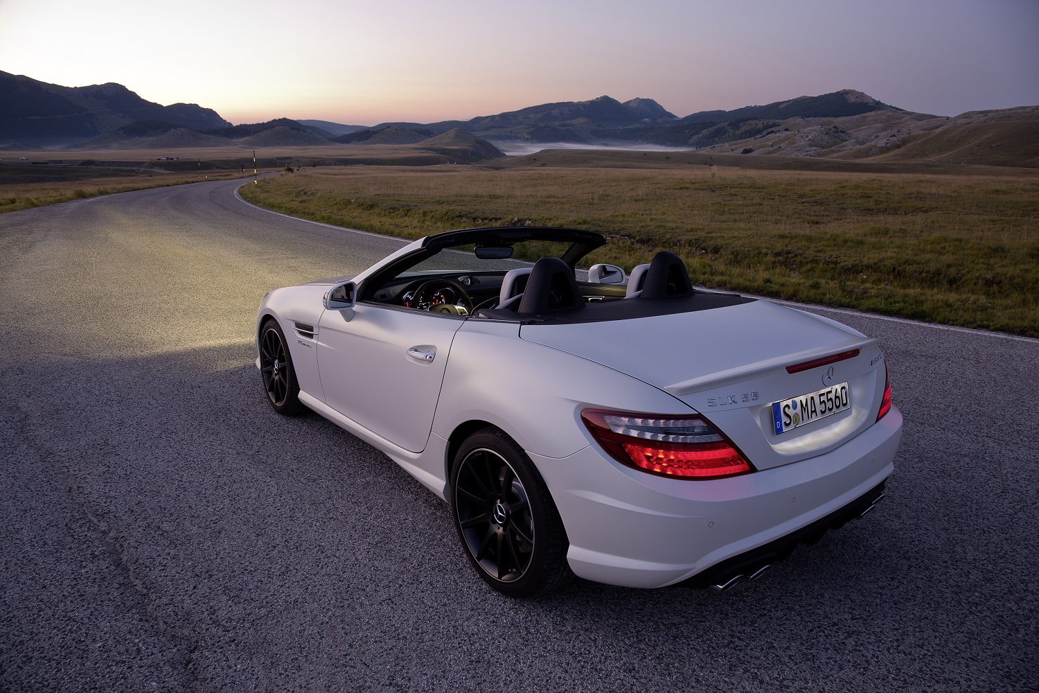 mercedes amg s last naturally aspirated engine will retire along with the slk name. Black Bedroom Furniture Sets. Home Design Ideas