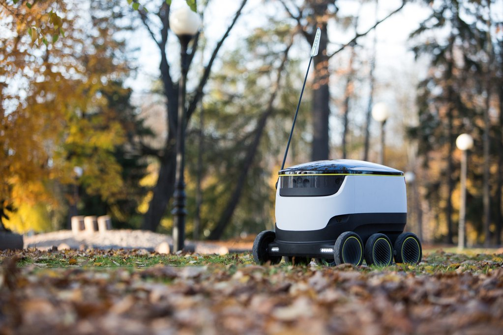 Takeout of the future? Company rolls out robots that deliver food