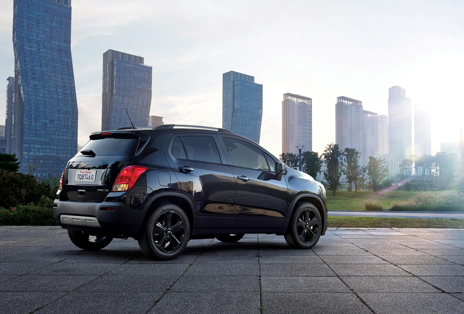 2015 Chevy Tahoe Ltz Chevrolet channels the Dark Side with the Trax Midnight ...