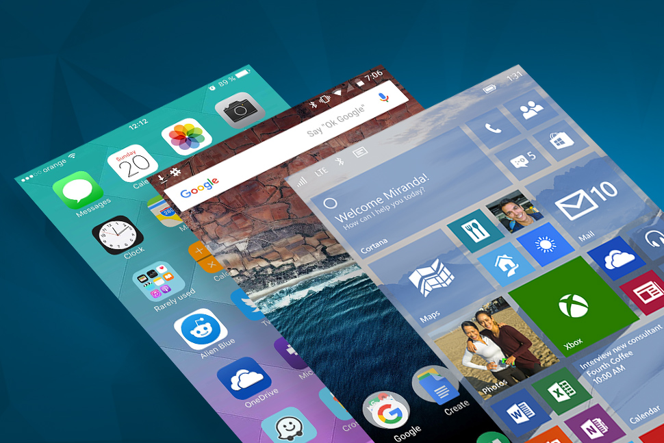a comparison of two mobile operating systems in android and ios