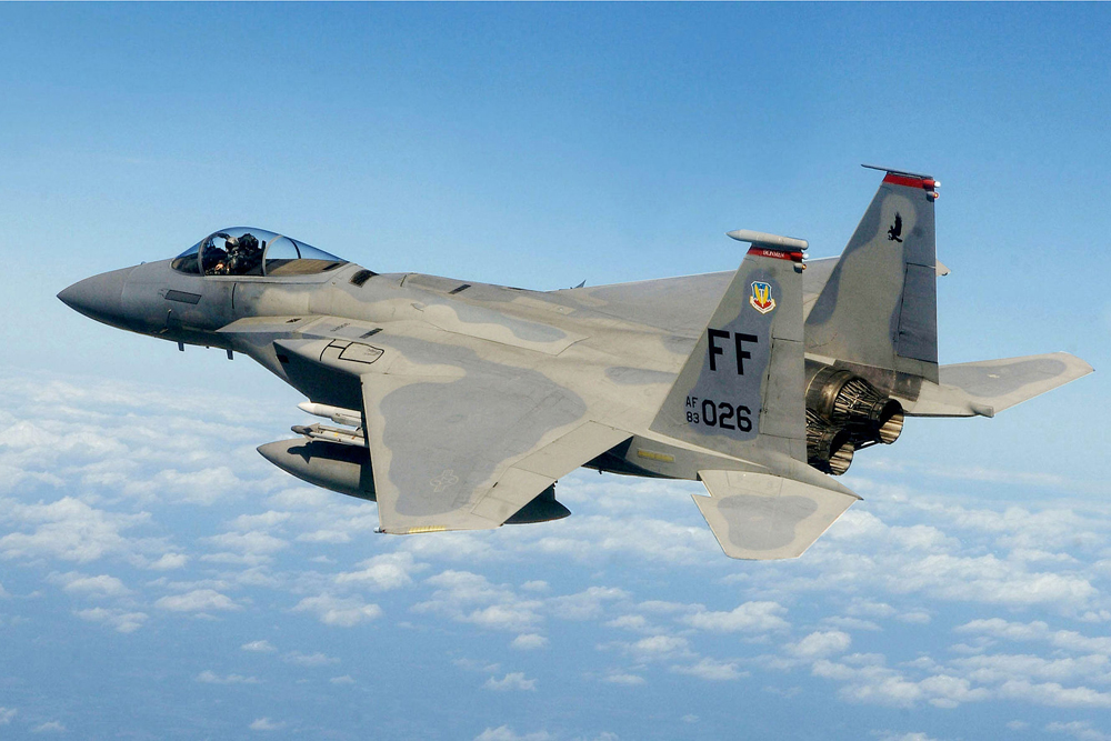 The U.S. Air Force expects to equip F-15 fighter jets with laser weapons by 2020 Air Force Fighter Jets