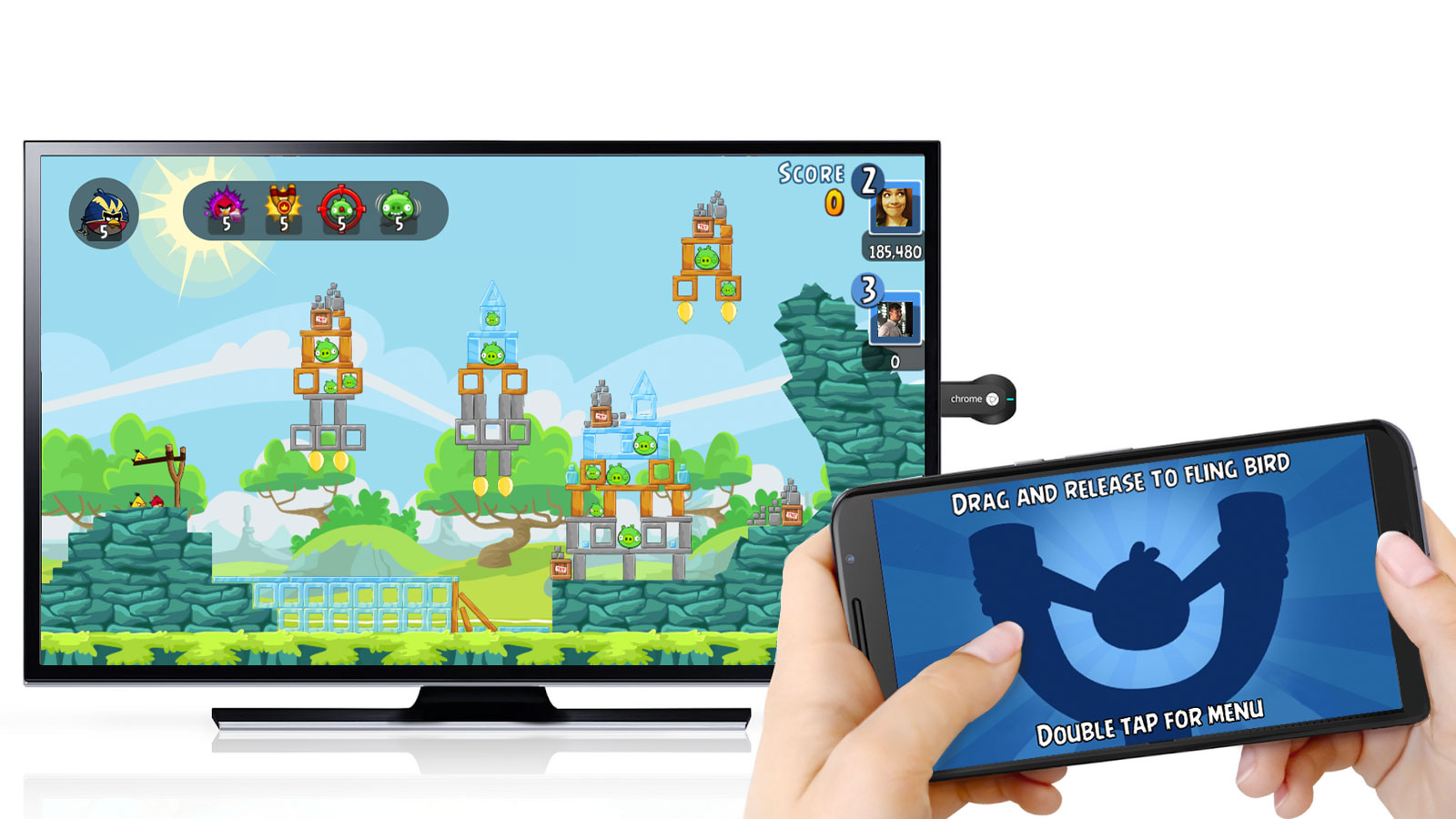 how to play video games on chromecast