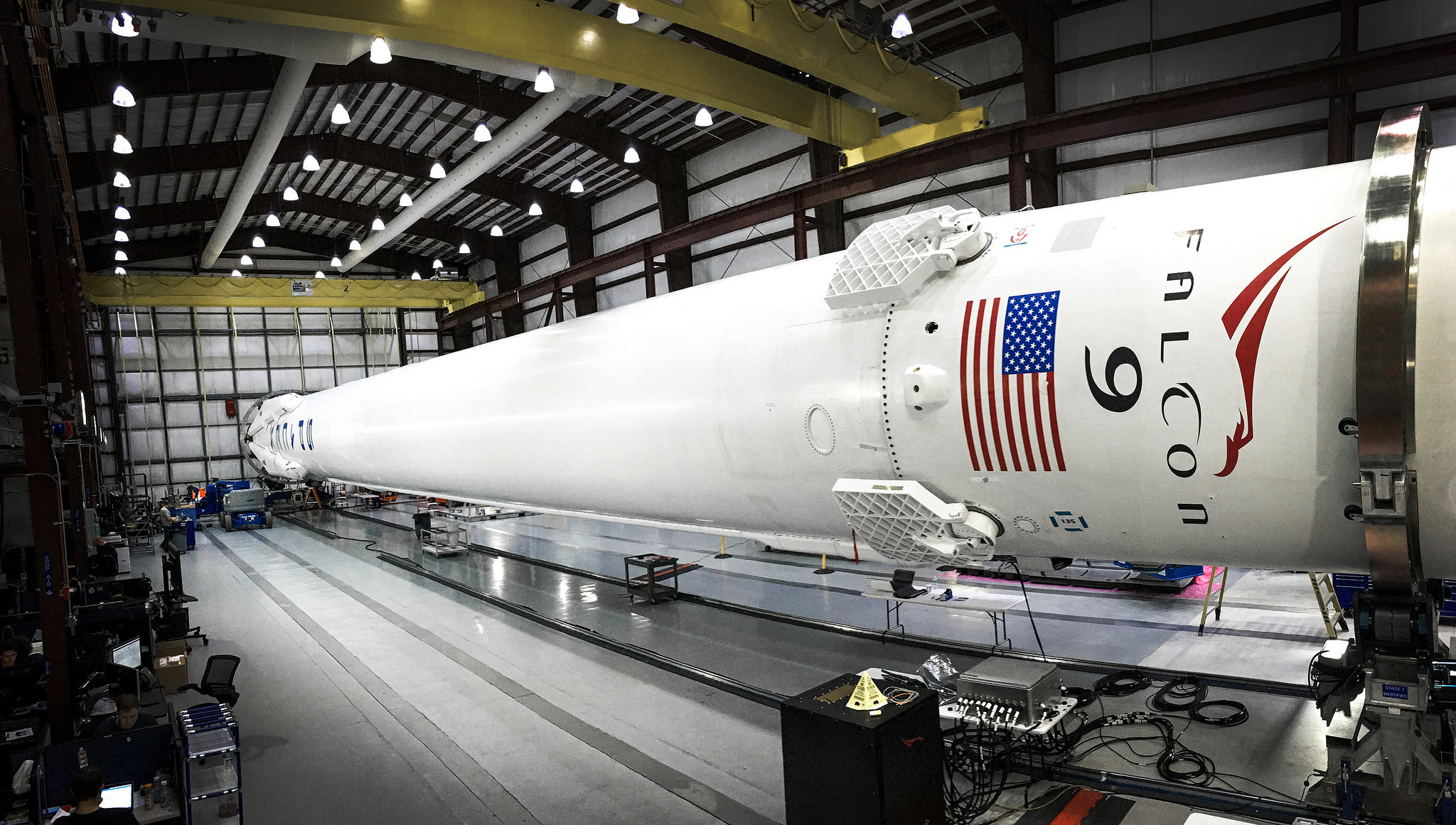 SpaceX prepares mission, sea landing for Feb 24