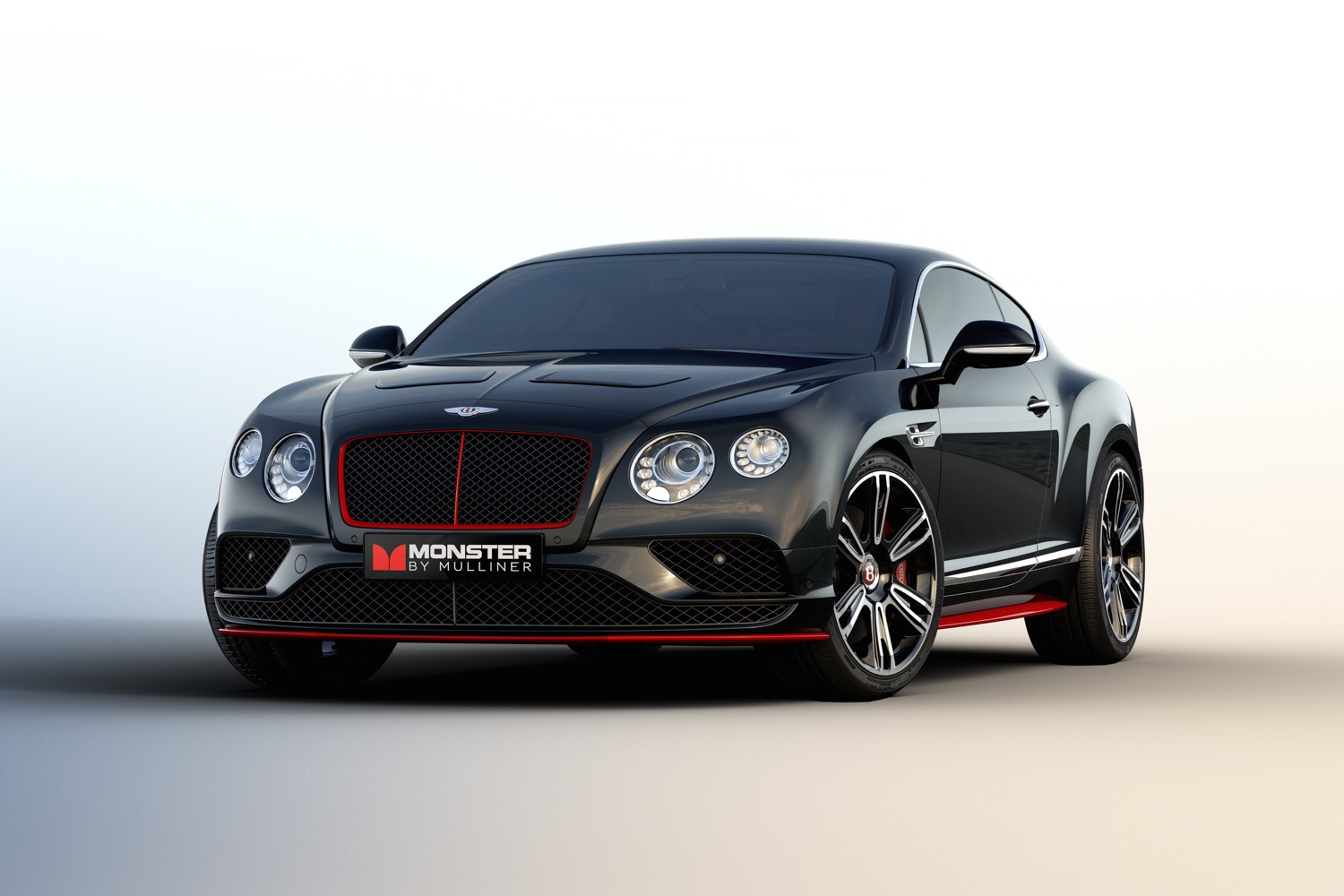 Bentley continental gt monster by mulliner makes some noise at ces 2016