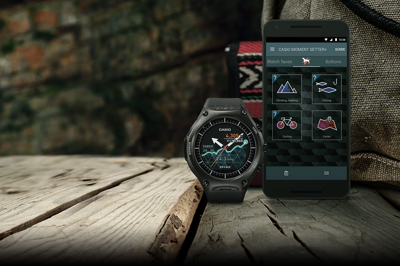 Casio's Android Wear rugged watch is now available at $500