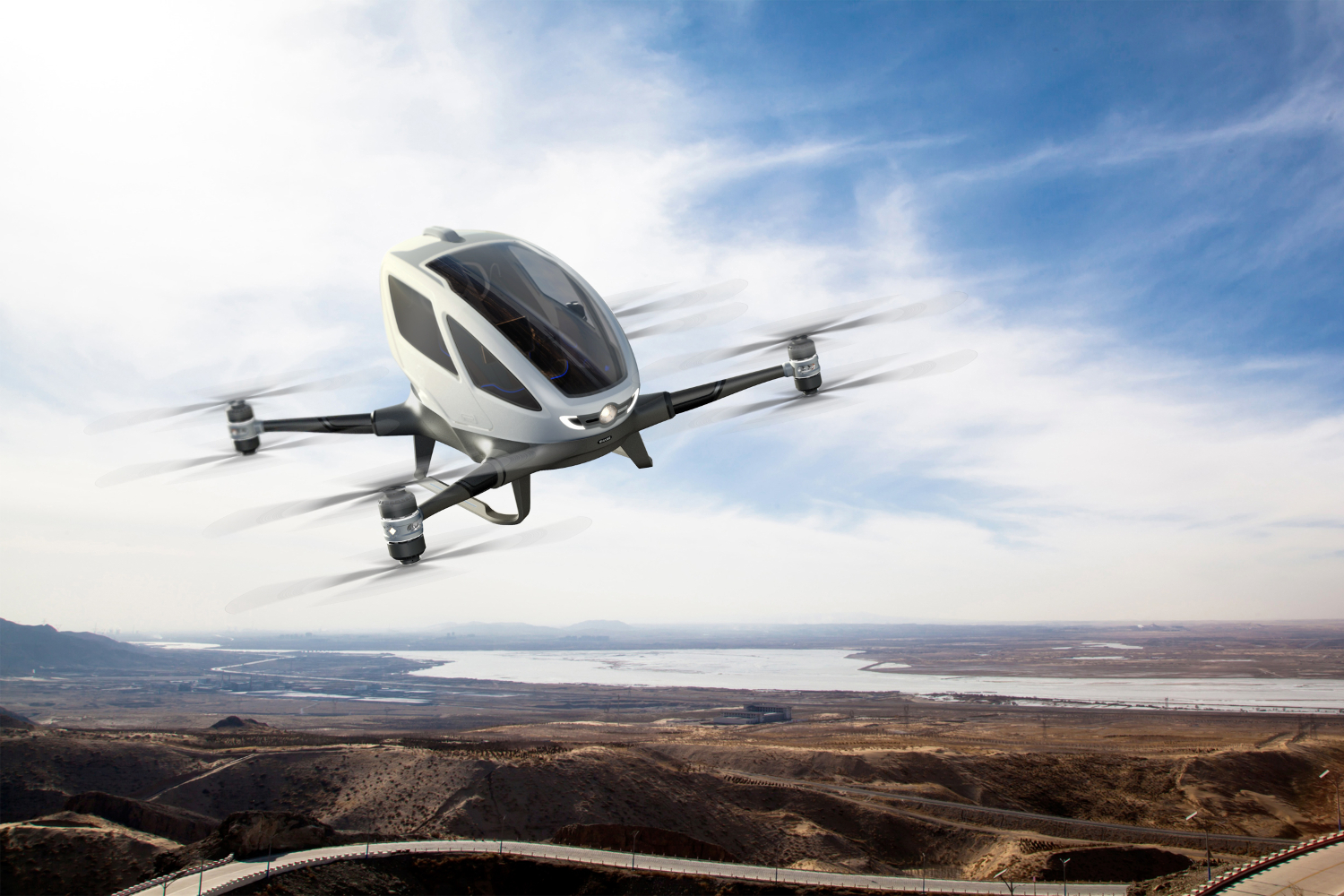 In The Future Drone Taxis May Deliver Manufactured Organs To Hospitals