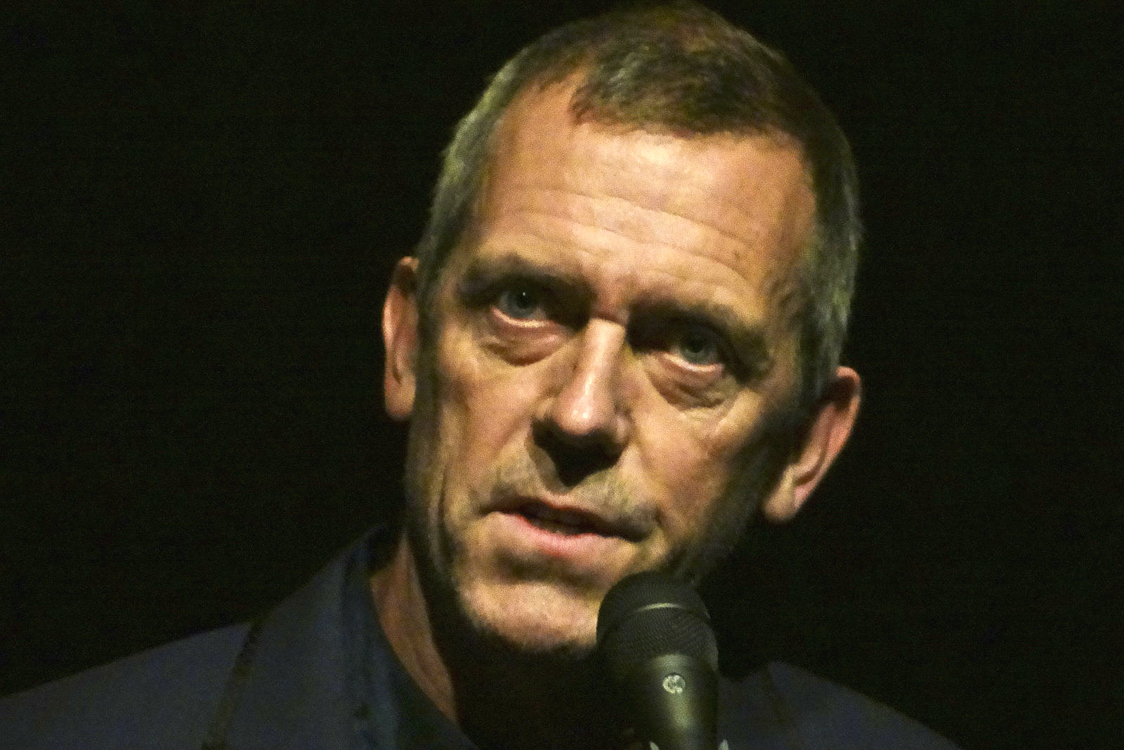 House's Hugh Laurie ...