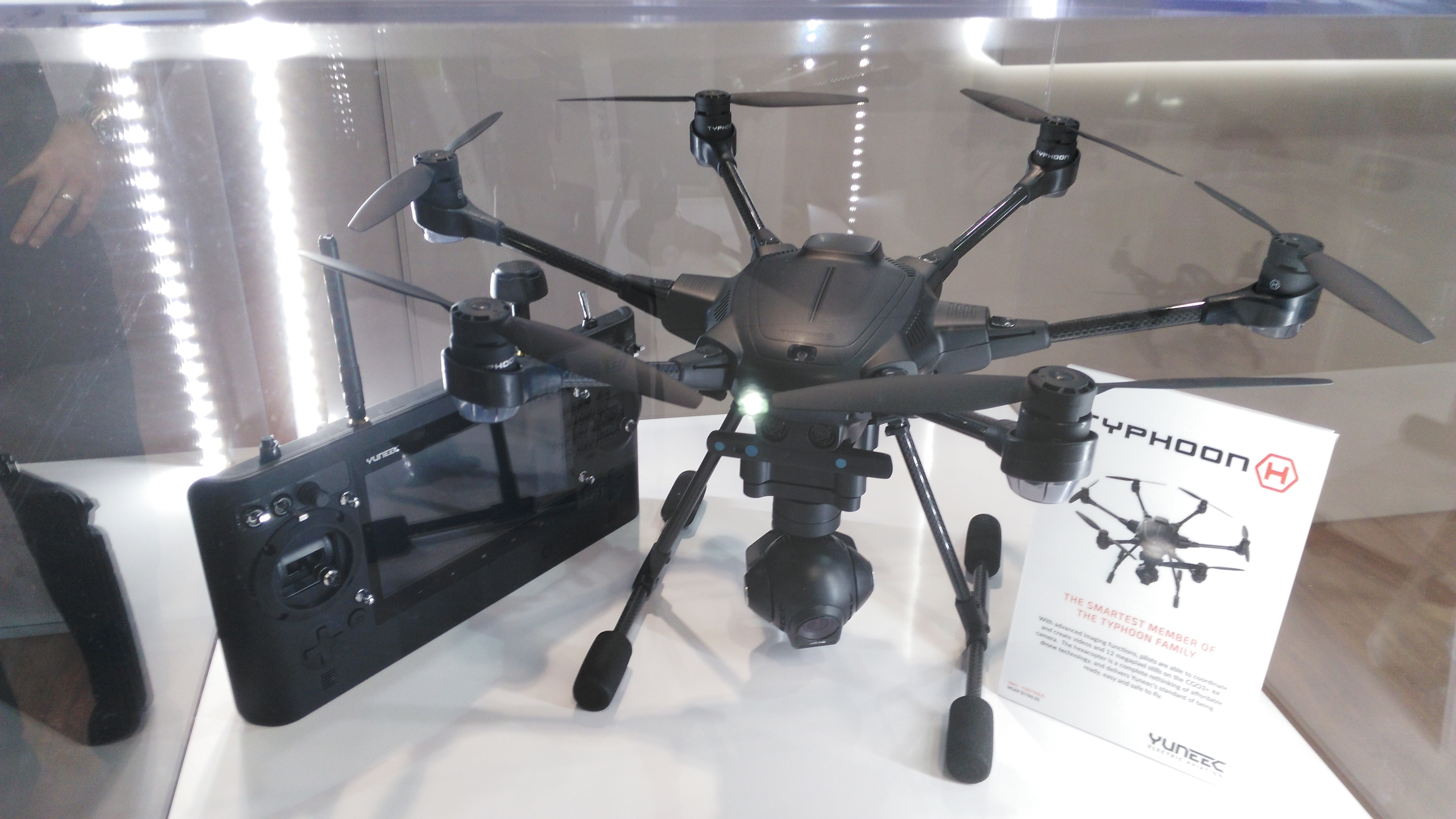 Yuneec S New 4k Typhoon H Hexacopter Has Sense And Avoid