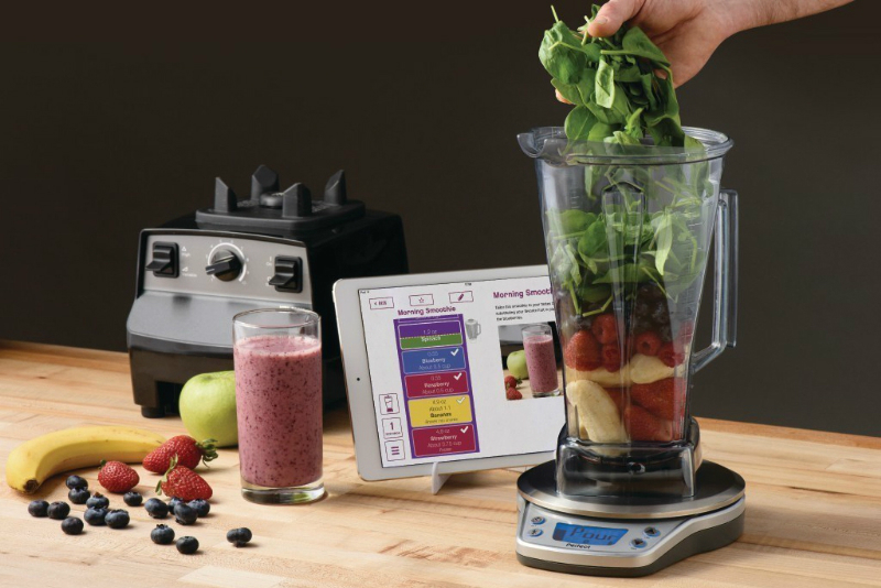 Vitamix now has an app to help you blend the perfect for Perfect blend pro smart scale