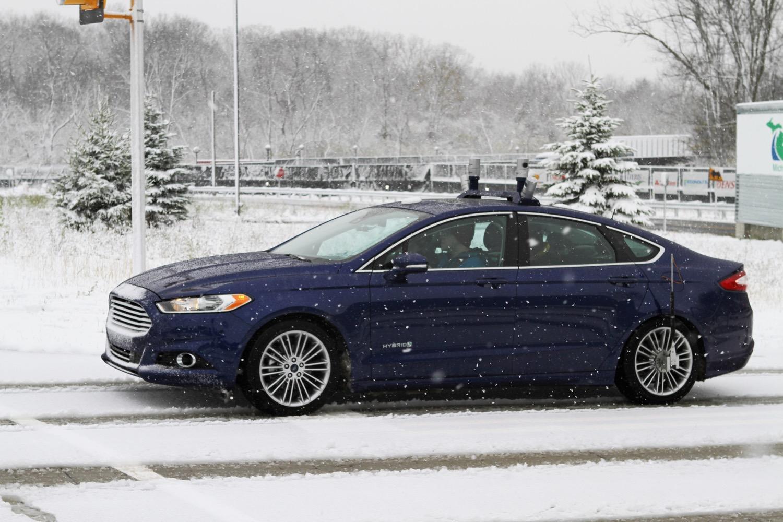 3d Maps Ensure Ford S Autonomous Cars Won T Get Snow Blind