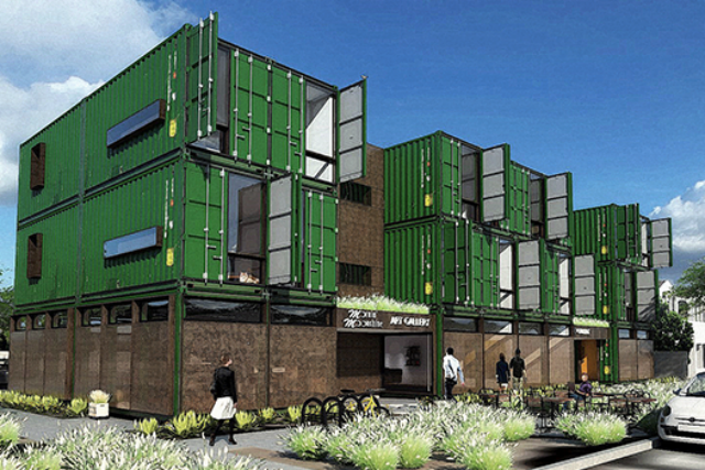 For $1,000 Phoenix residents can live in a shipping container apartment