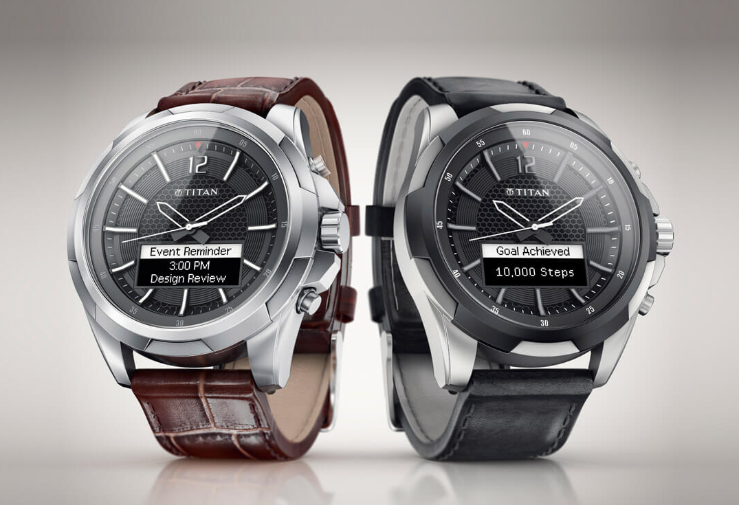 HP and Titan reveal the Juxt, an analog watch with smart ...