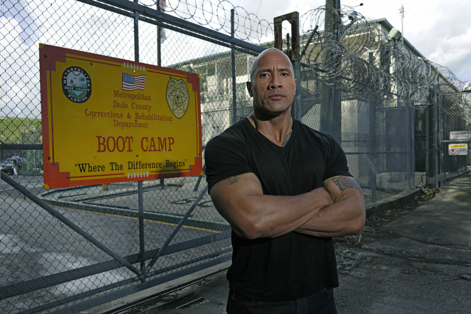 Dwayne Johnson heads to youth prison boot camp with new ...