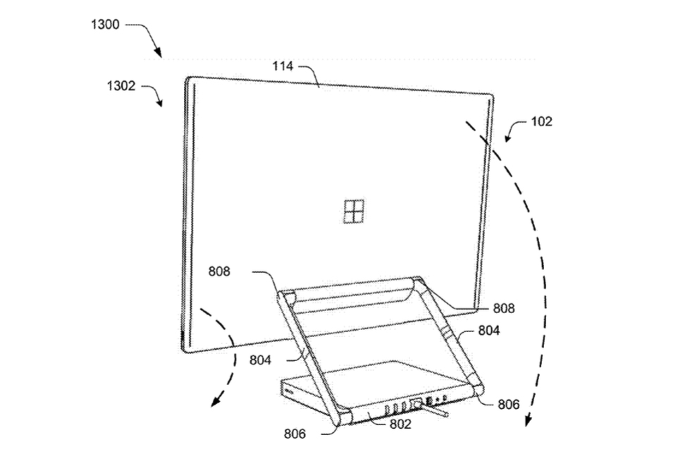 newly revealed microsoft patent may support a surface all