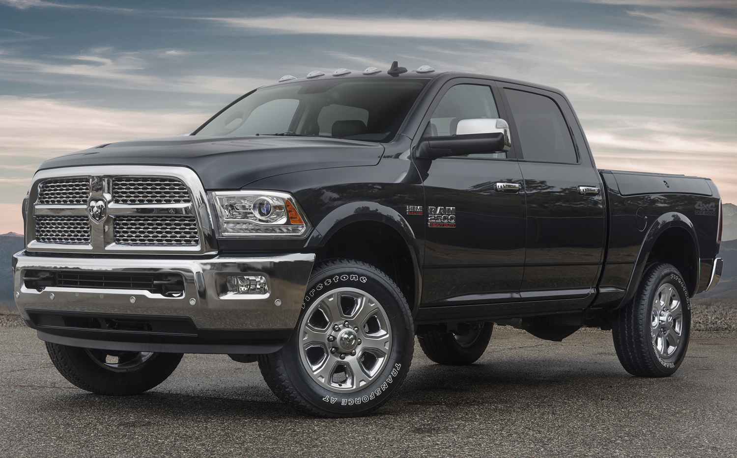 A 4 4 off road package helps the ram 2500 go farther off the beaten path