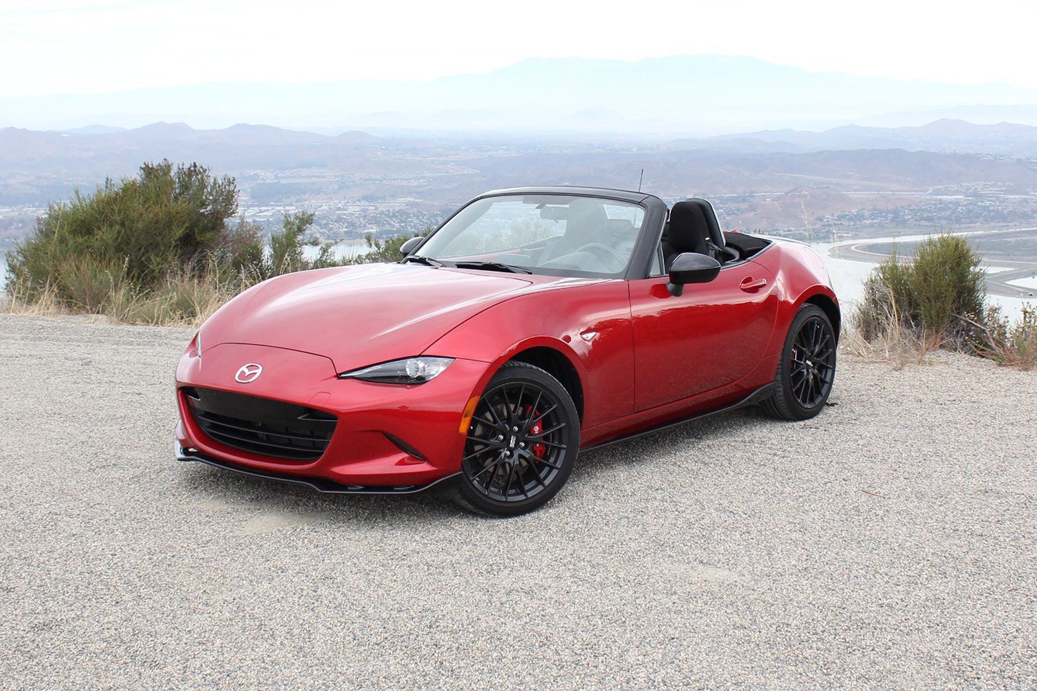 mazda will reveal a hardtop version of its new mx-5 miata in new york