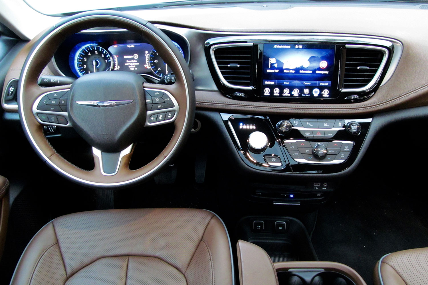 2017 Chrysler Pacifica First Drive Digital Trends