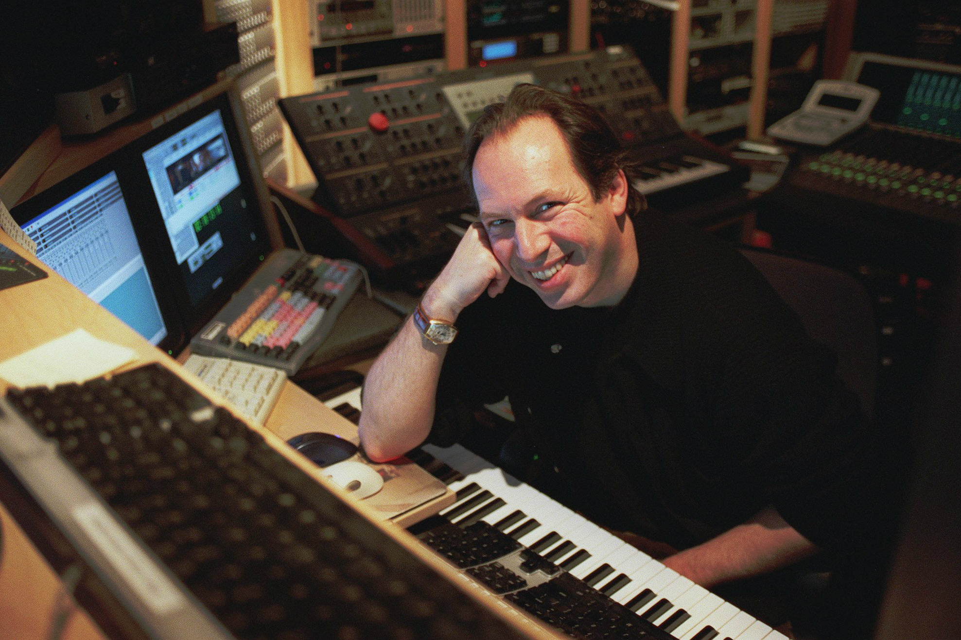 Tired of tights composer hans zimmer retires from for Hans zimmer house