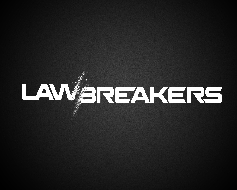 Lawbreakers' new, less colorful logo