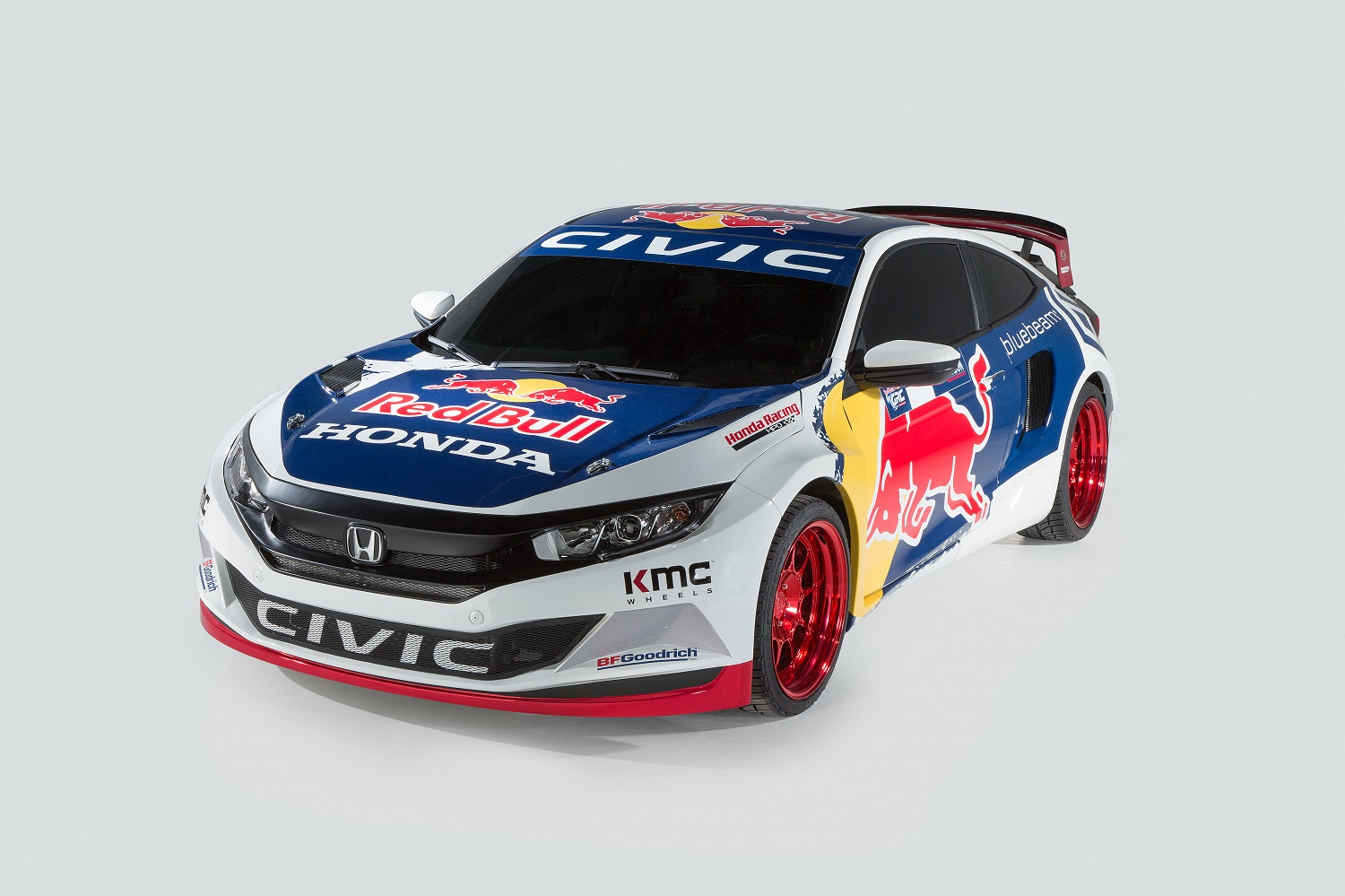 Grc Civic >> Honda's Global Rallycross entry is a 600-hp Civic that does zero to 60 in just 1.9 seconds