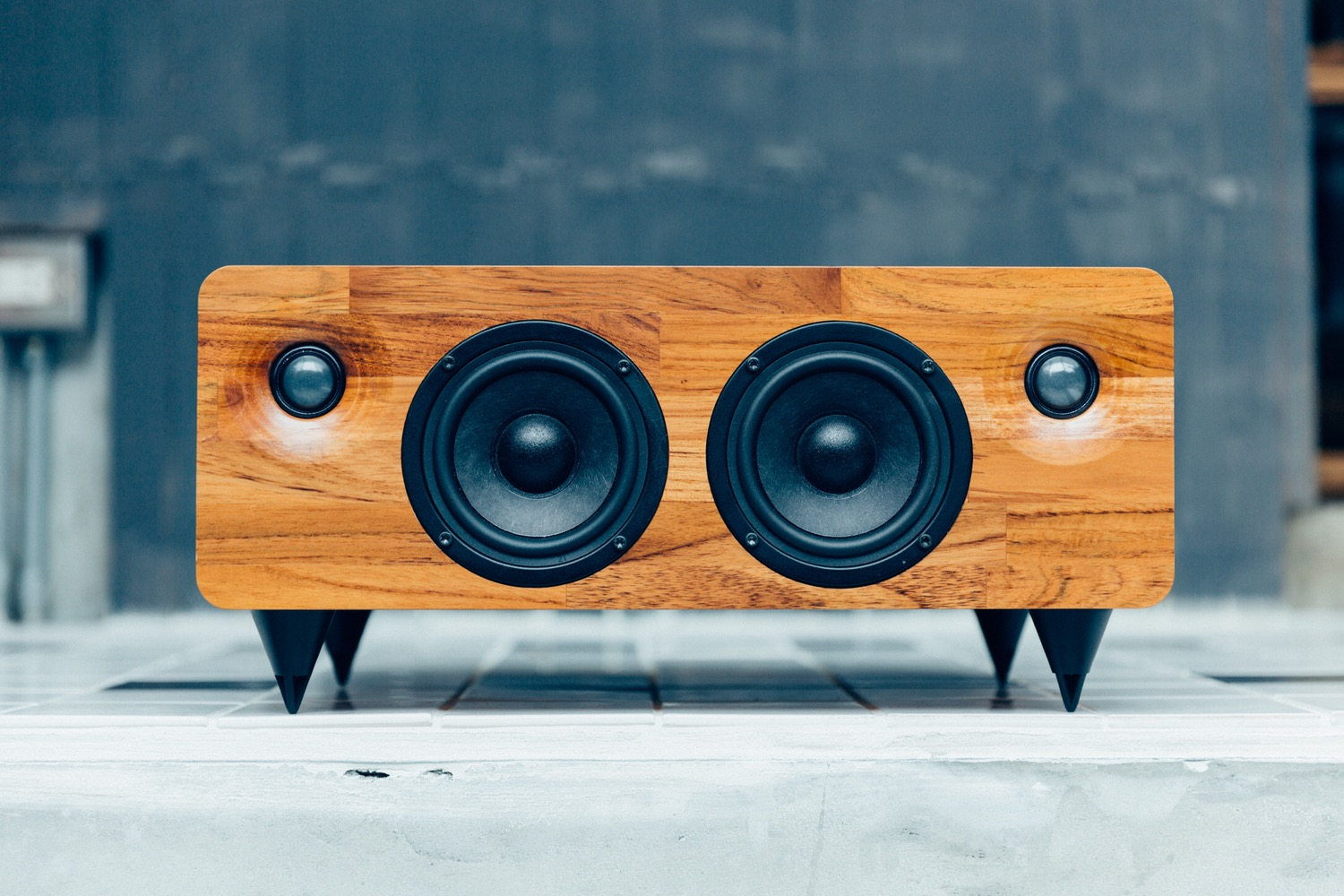 Wood Speaker Home Made