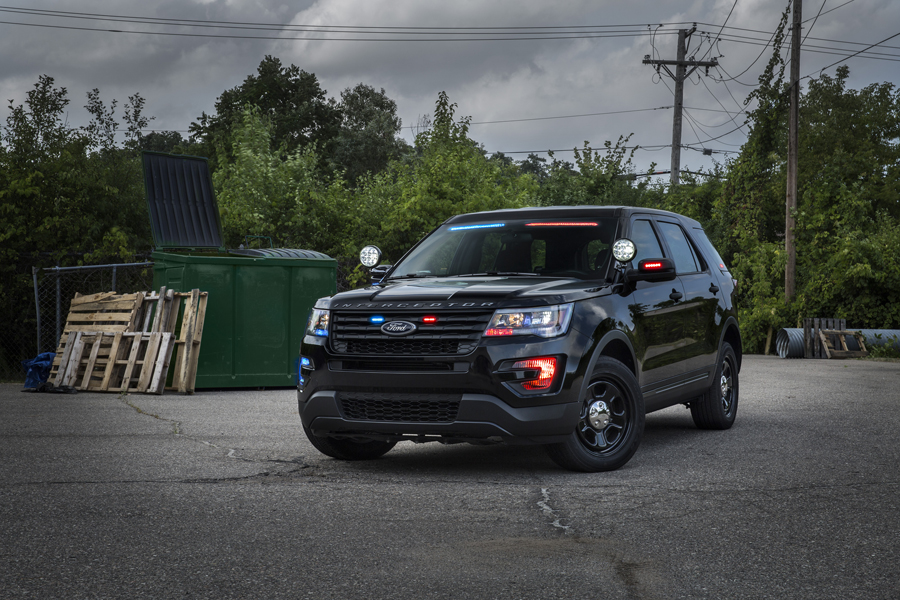New ford police interceptor utility harder to spot than ever for Garage mj auto