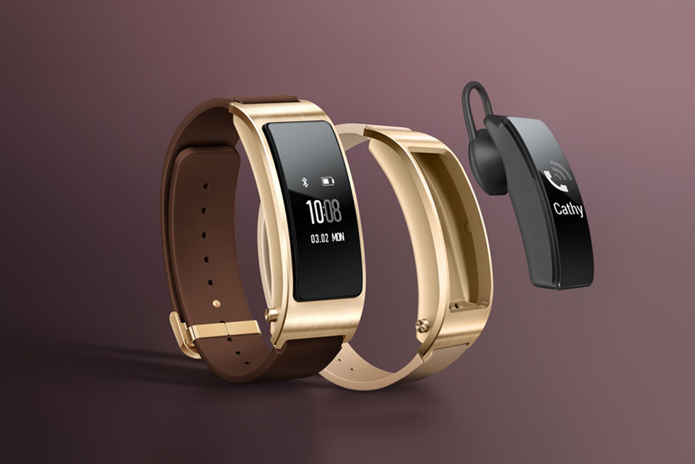 Huawei S Talkband B3 Doubles As A Fitness Tracker And A
