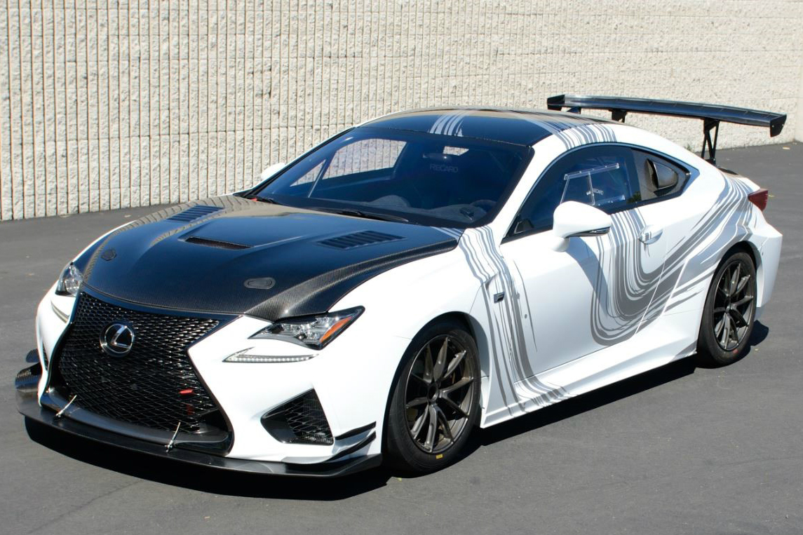 Lexus Fills The Gap Between The Production Rc F Coupe And