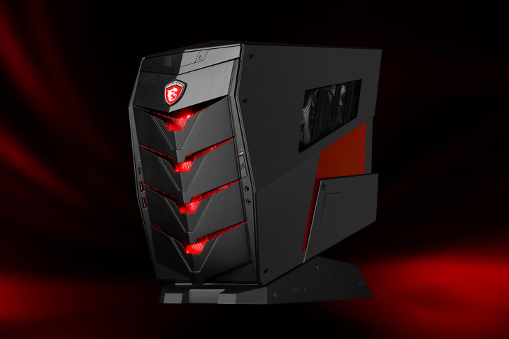 there 39 s nothing subtle about msi 39 s new aegis gaming pc. Black Bedroom Furniture Sets. Home Design Ideas