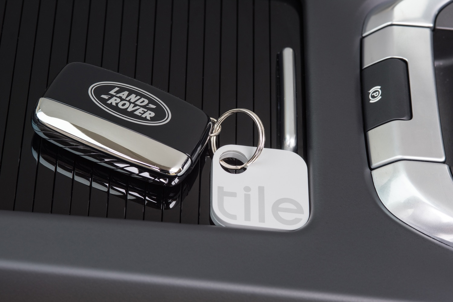 With Tile Integration Your Jag Or Land Rover Can Find