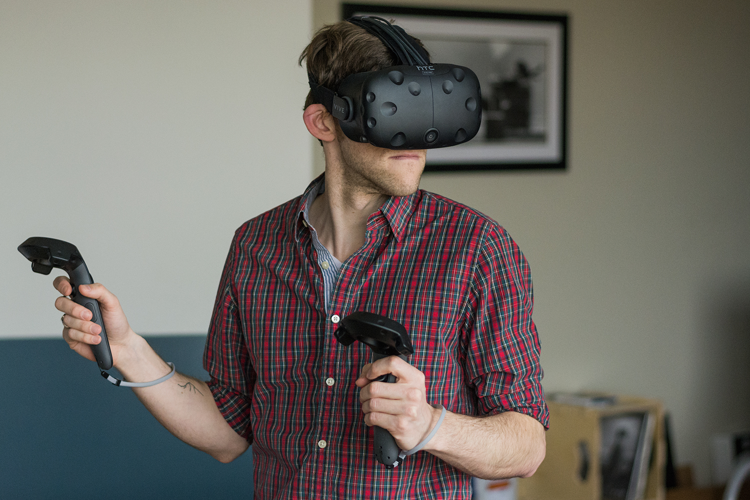 steam vr how to start game