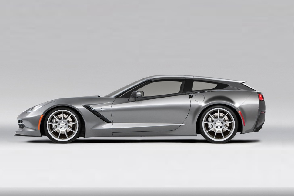 callaway turns the chevrolet corvette into a weekend ready shooting brake. Black Bedroom Furniture Sets. Home Design Ideas