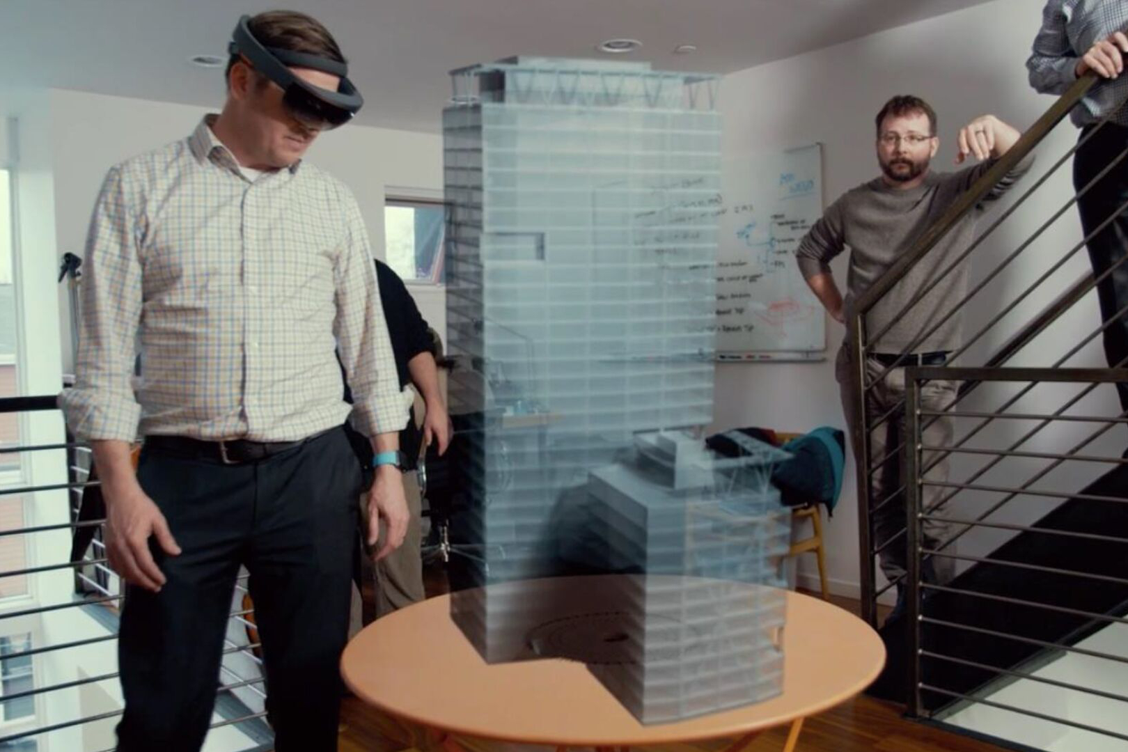 Microsoft HoloLens used to provide virtual tour of Seattle ...