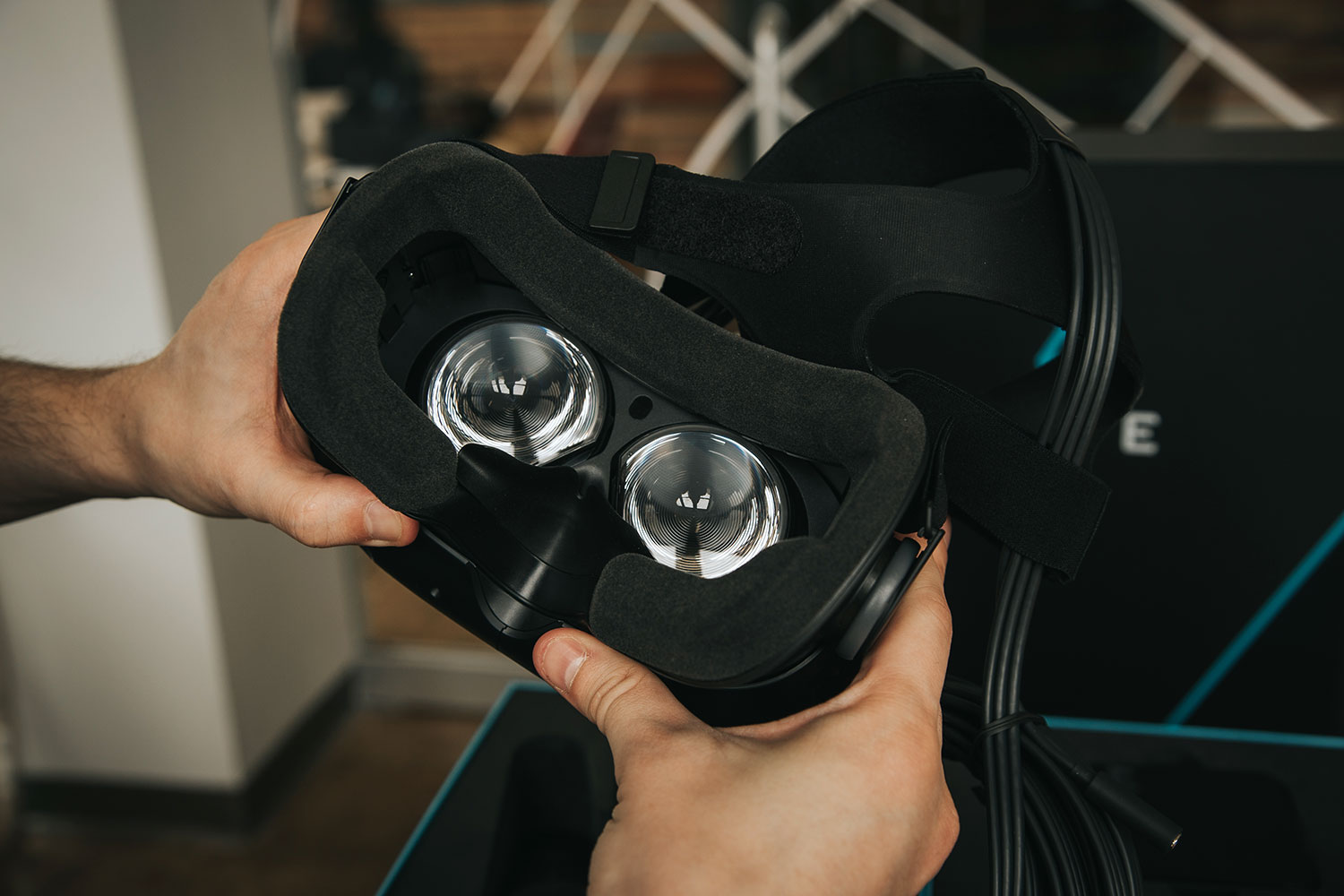 how to re set up htc vive