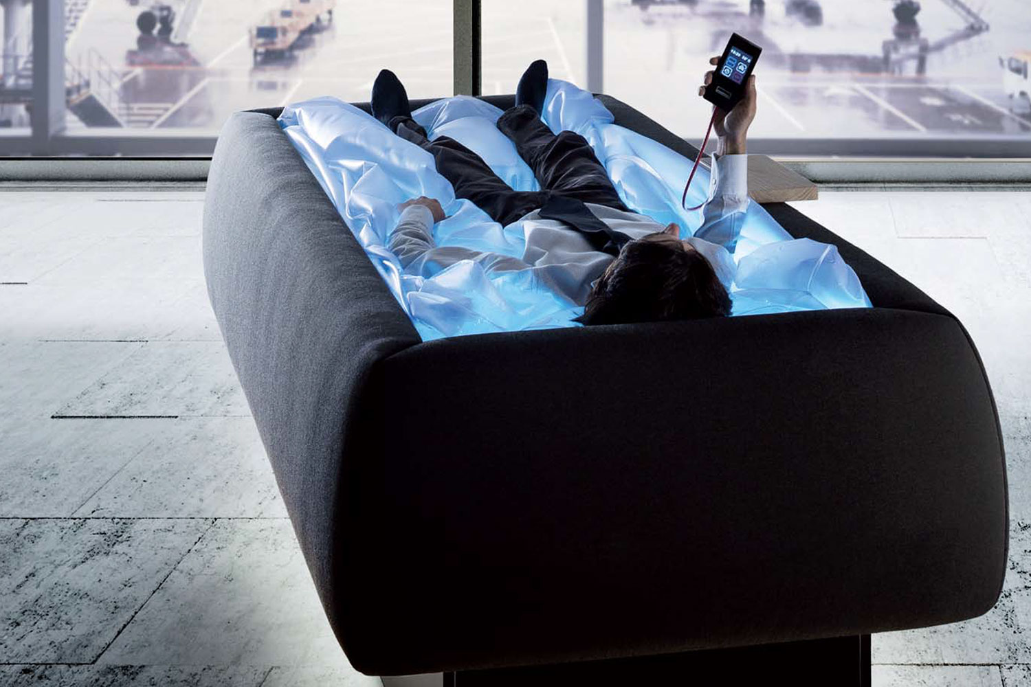 This Heated Waterbed Keeps You Dry But Makes You Feel Like