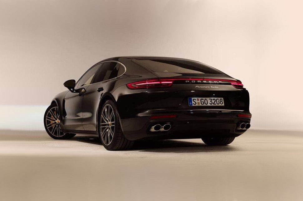 Leaked images show a Porsche Panamera that rights the original